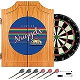 NBA Denver Nuggets Wood Dart Cabinet, One Size, Brown