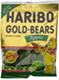 Haribo Gold Bears Gummi Candy Limited Edition Apple Flavor, 4 Ounce Bag
