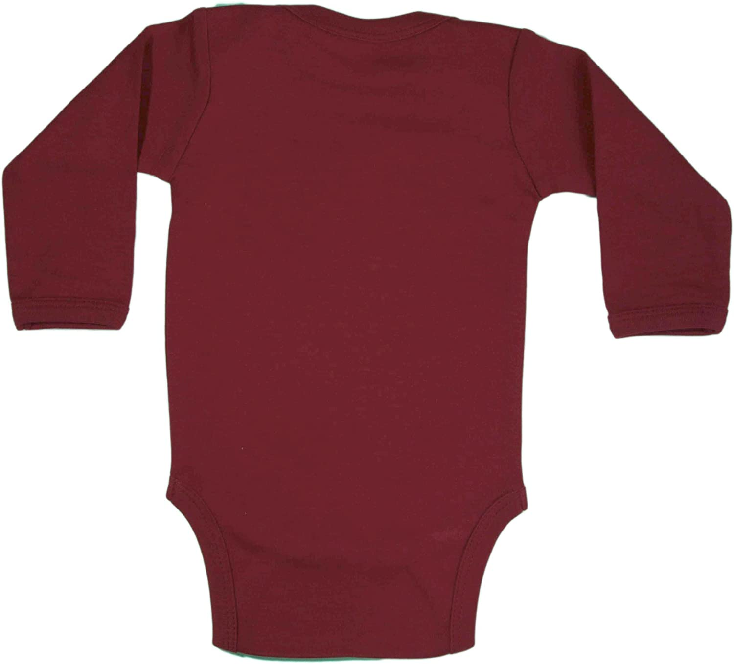 Amazon Baby Milano Maroon Long Sleeve esie Infant And