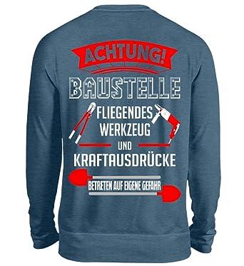 Bauarbeiter Shirt Geschenk Bagger Fans Baustelle Spruch