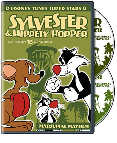 DVD : Looney Tunes Super Stars Sylvester and Hippety (Eco Amaray Case)