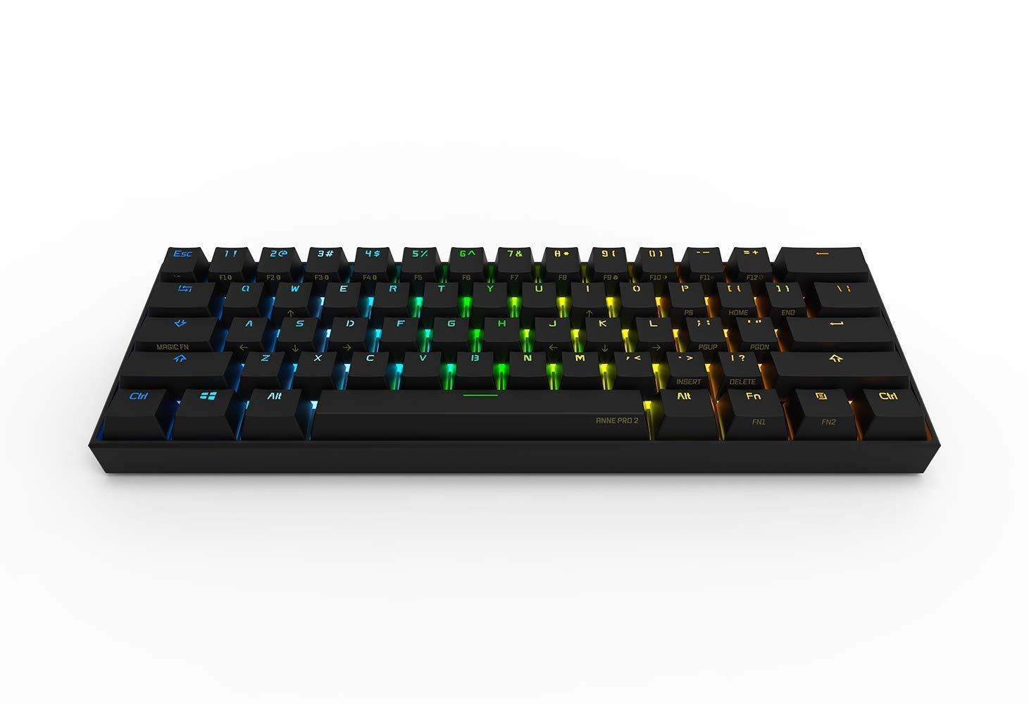 Anne Pro 2 Mechanical Gaming Keyboard 60% RGB
