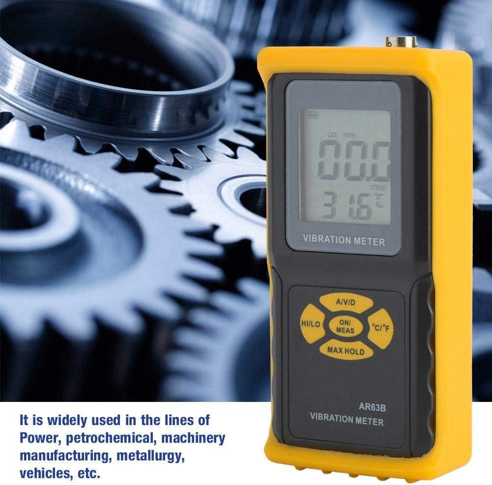 Precision Digital Intelligent Sensor AR63B Handheld Vibration Meter Analyzer Vibration Analyzer Tester