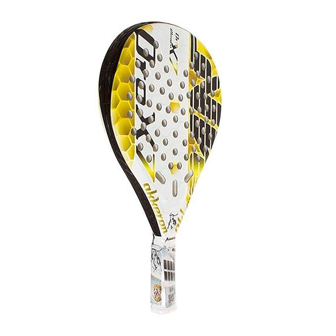 Pala De Padel Akkeron Oro Blanco X7: Amazon.es: Deportes y ...