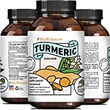 Ground Turmeric Curcumin with Bioperine – for Women + Men – All Natural...