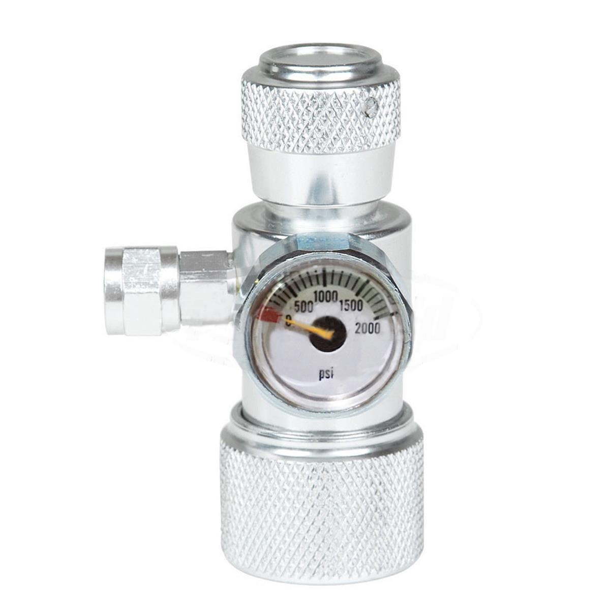 Faway CO2/mousse Plante Poisson Aquarium Unique R/égulateur de jauge de pression Manom/ètre /équipement CO2/Jauge de pression