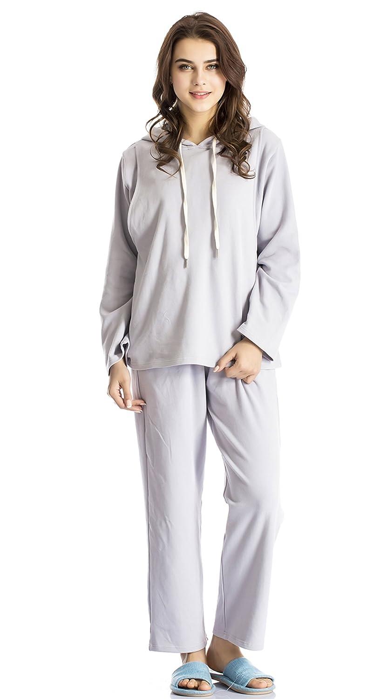 f577265050f Nursing Pajamas Maternity Pajamas Nursing Sleepwear Long Sleeve Breastfeeding  Pajamas Set at Amazon Women's Clothing store: