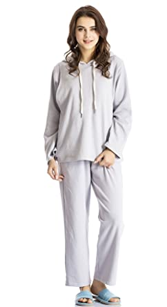 23ffa3f9b61ef Modern Mummy Women's Winter Maternity Nursing Pajamas Long Sleeve Breastfeeding  Pajamas Set Dusty Blue Medium