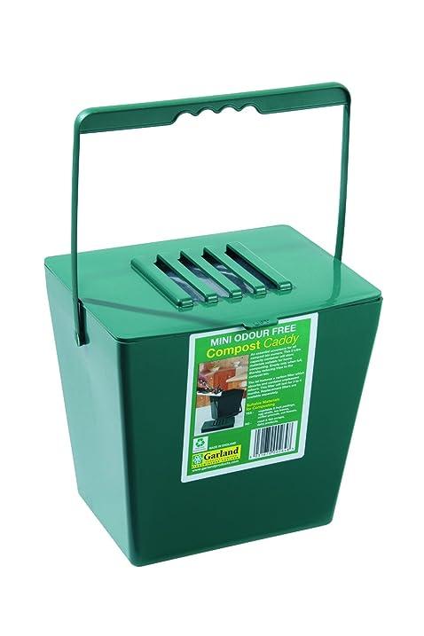 Wonderful Tierra Garden GP118 Odor Free Compost Caddy, Mini