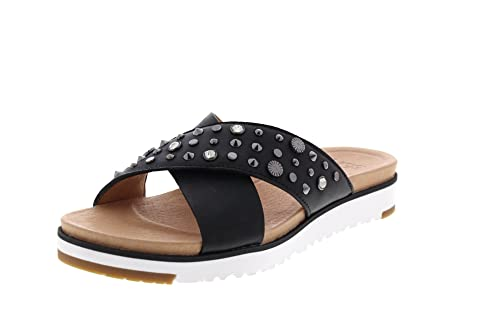 ef2768e186b1e9 UGG Australia Kari Studded Bling Women's Flip Flops: Amazon.co.uk: Shoes &  Bags