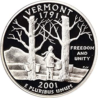 2003-S Maine Statehood Silver Quarter Proof Roll of 40 Coins