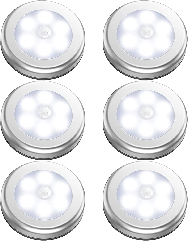 Motion Sensor Light Rechargeable Cordless Battery-Powered LED Wall Night Light