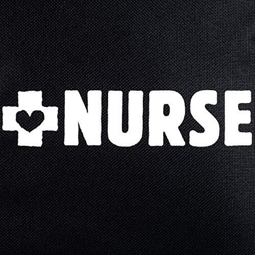 """""""Nurse"""" Plaid Print Tote Bag - Blue"""
