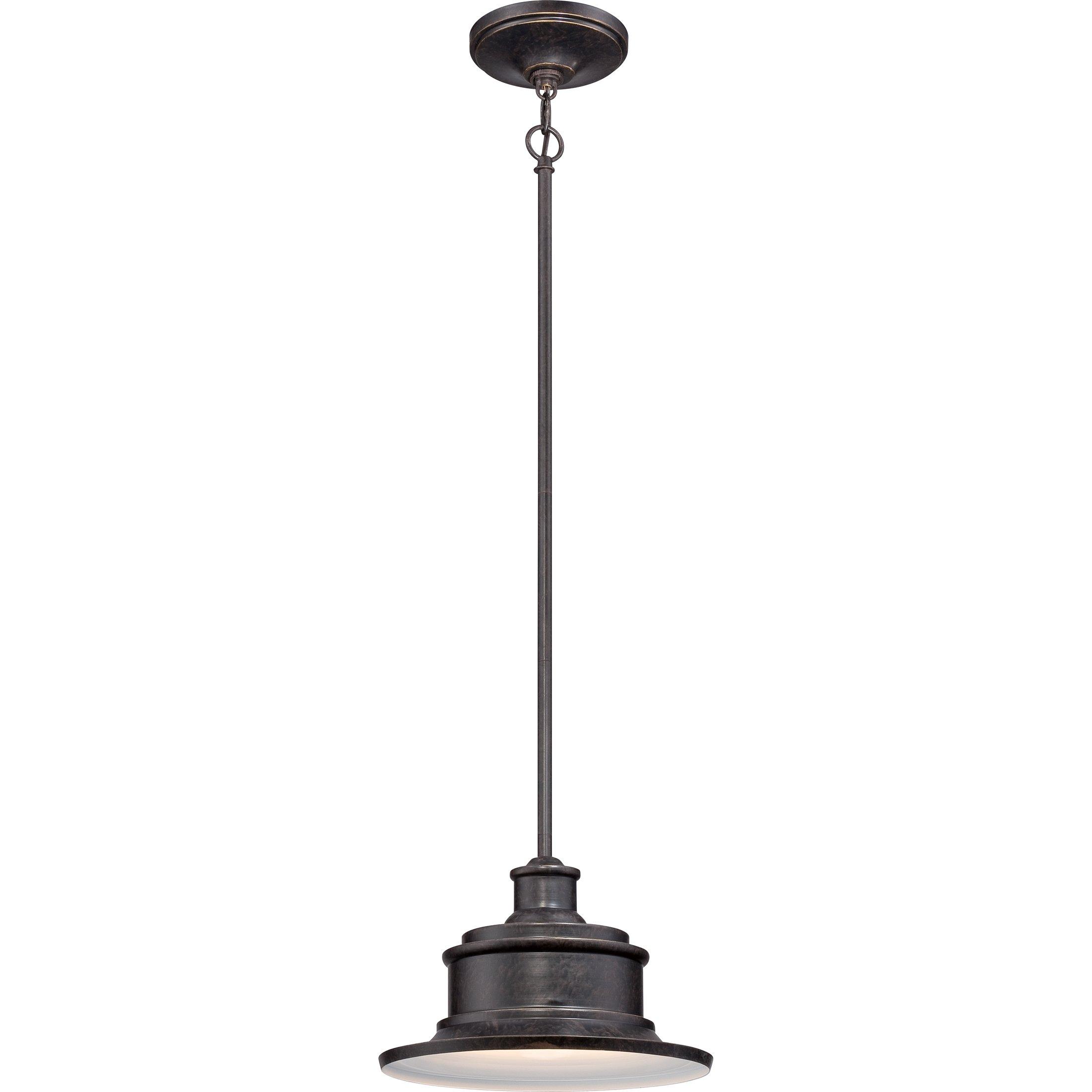 Quoizel SFD1911IB 1-Light Seaford Outdoor Lantern in Imperial Bronze