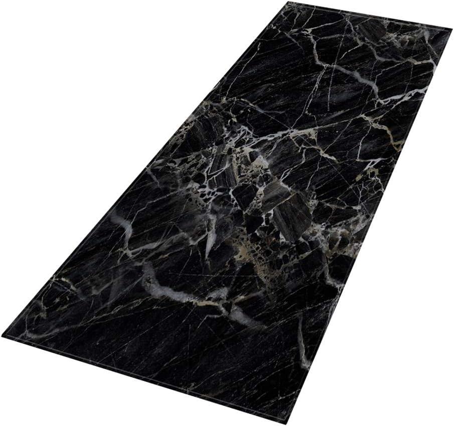 FADDARE Tapis de Sol en marbre Tapis de Salon en Polyester Rectangle Tapis antid/érapant pour Tapis de Cuisine