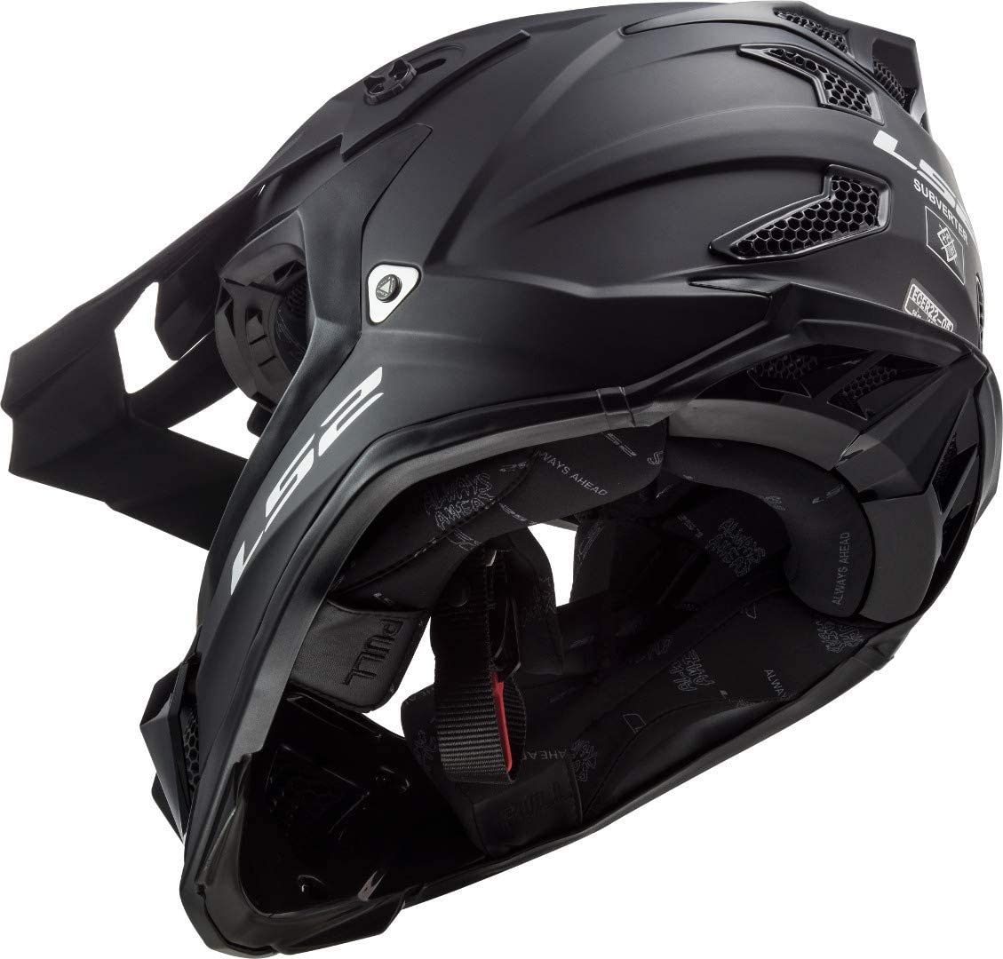 LS2 Helm MX 470 Subverter Schwarz Gr M
