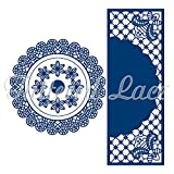 Tattered Lace Floating in the Air Circle Surprise Cutting Die Set TLD0187