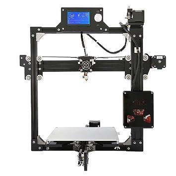 2016 Más Reciente Anet A2 Full Metal de Aluminio Kit de Impresora 3D DIY fácil de Montar Con El Enví