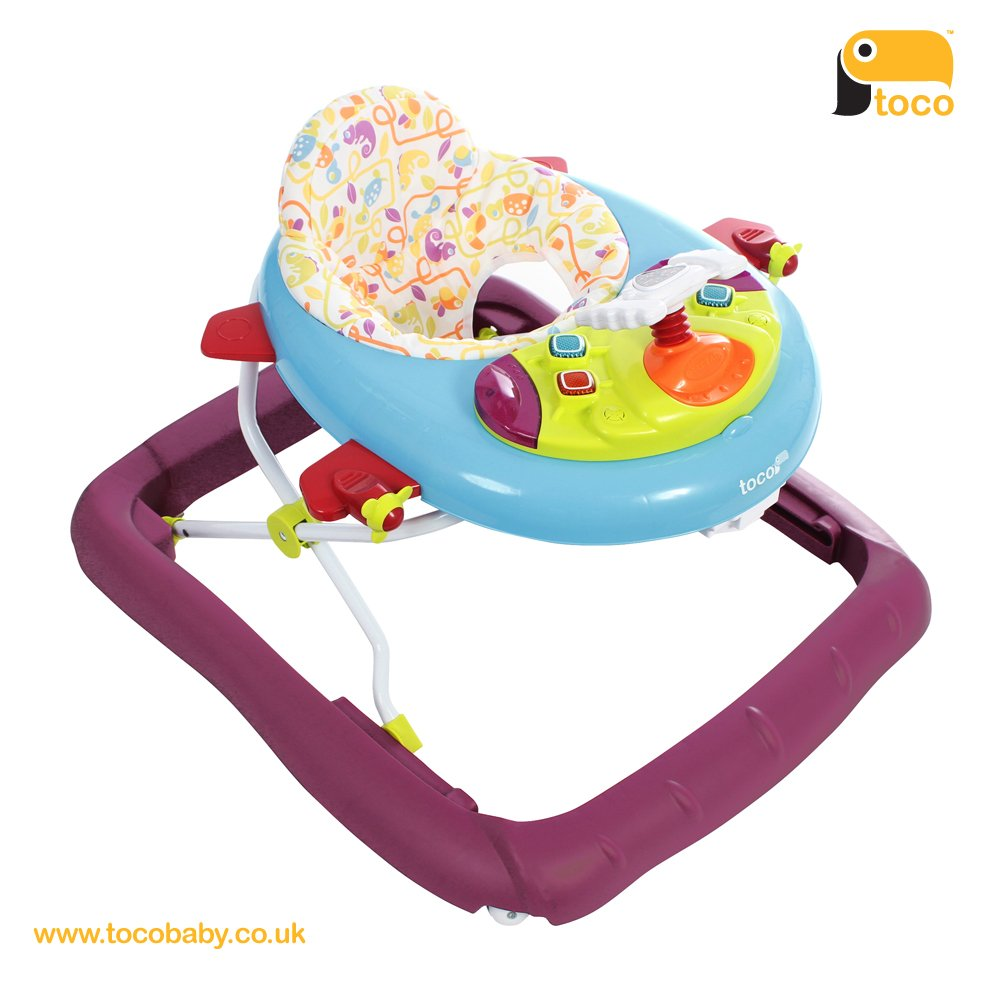 Toco Airo Folding Baby Walker Multi 15-47-006