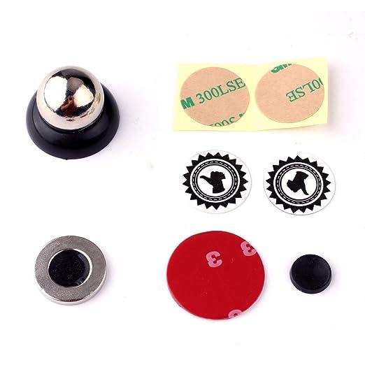 Amazon.com: Universal Magnetic Car Cell Phone Holder Mount Dash 360° Rotating Black Soporte para Celulares Coche: Cell Phones & Accessories