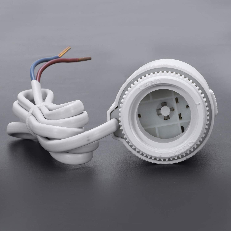 SODIAL Nc Valvola di Riscaldamento a Pavimento per Attuatore Termico Elettrico Ac 230V per Valvola Termostatica per Riscaldamento a Pavimento