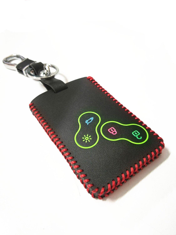 Amazon.com: yuwaton funda de funda de llave llavero llave de ...