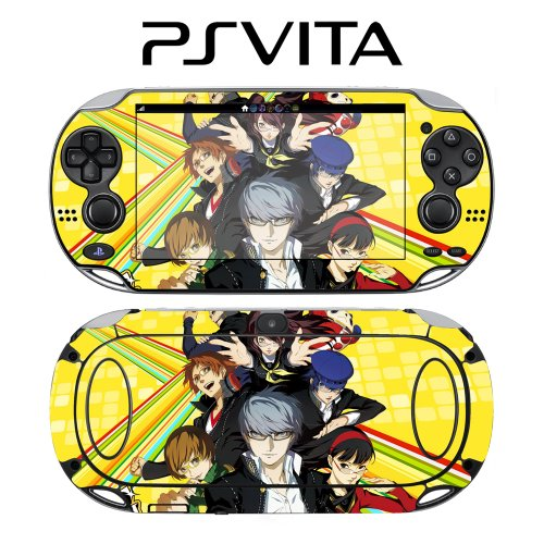 Personal G4 P4G Decorative Video Game Decal Cover Skin Protector for Sony PlayStation PS Vita