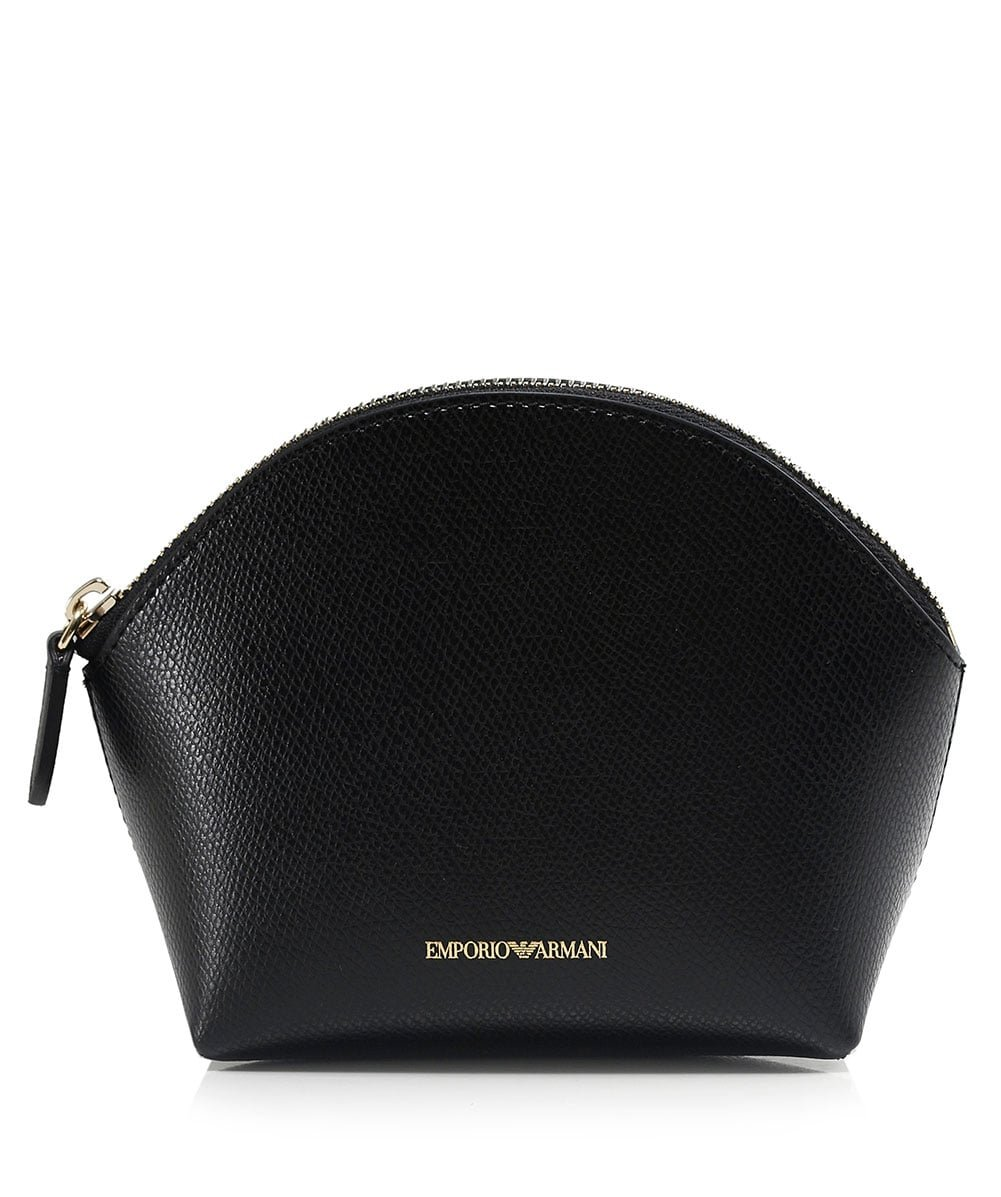 Emporio Armani Women's Beauty Bag Trio Black One Size