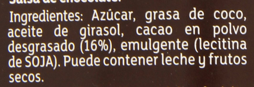 Carte DOr - Crunchy Topping - Sirope de chocolate negro crujiente - 892 ml: Amazon.es: Alimentación y bebidas