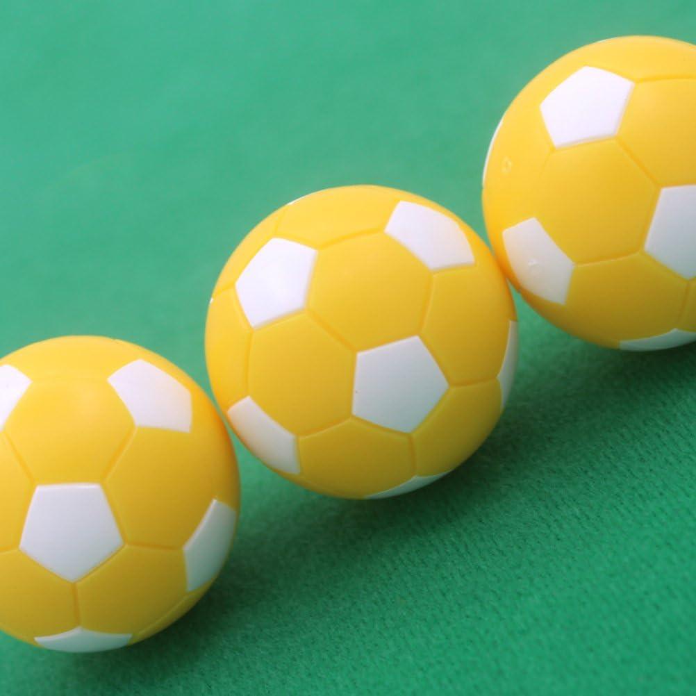 VOSAREA Juego de 6 balones de Futbol de futbolín para futbolín. Juego de 6.: Amazon.es: Hogar