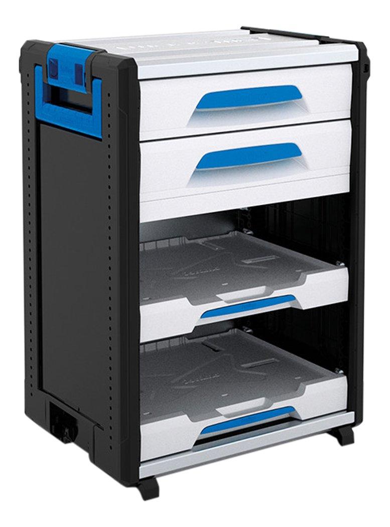 Sortimo 1000004441 WorkMo 24-750 ink 2 Schubladen und 2 Multislides