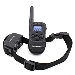 Petronics-Rechargeable-Shock-Training-Collar-with-Remote