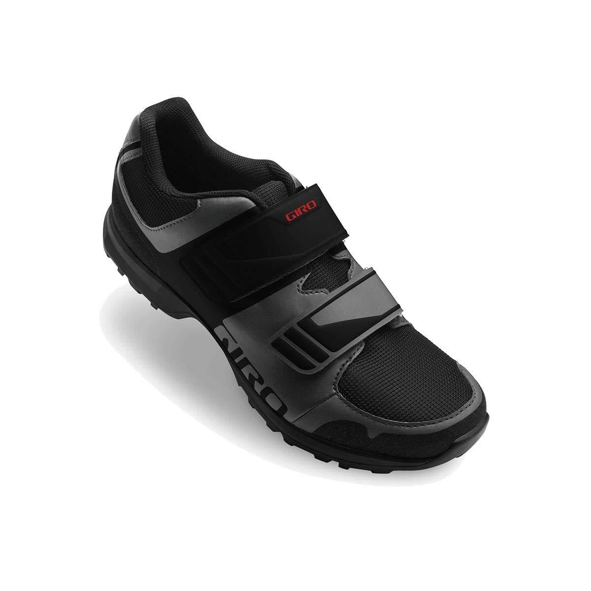 Giro Berm Men's MTB Shoe (45 M EU, Dark Shadow/Black)
