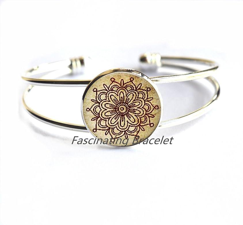 FascinatingBracelet Pulsera de Cristal con diseño de Tatuaje de ...