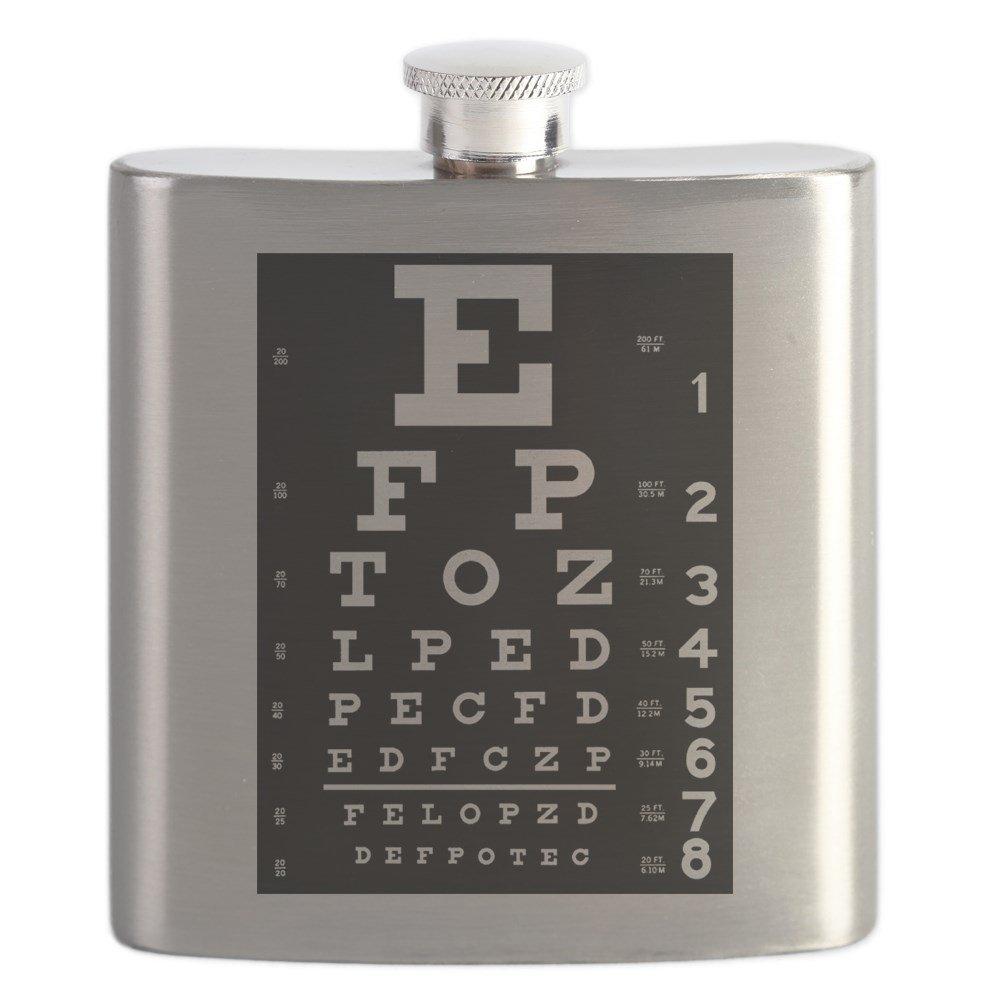最高の CafePress – CafePress Eye B01CKIZ7K2 Chartギフト – ステンレススチールフラスコ –、6オンスDrinkingフラスコ B01CKIZ7K2, あっぷる坊や:d7a4b9f5 --- portfolio.studioalex.nl