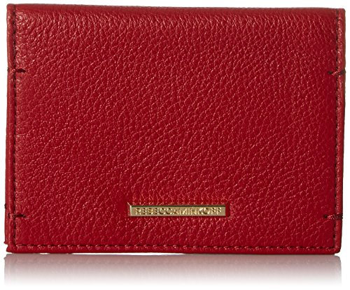 Regan Card Case Wallet, Deep Red, One Size