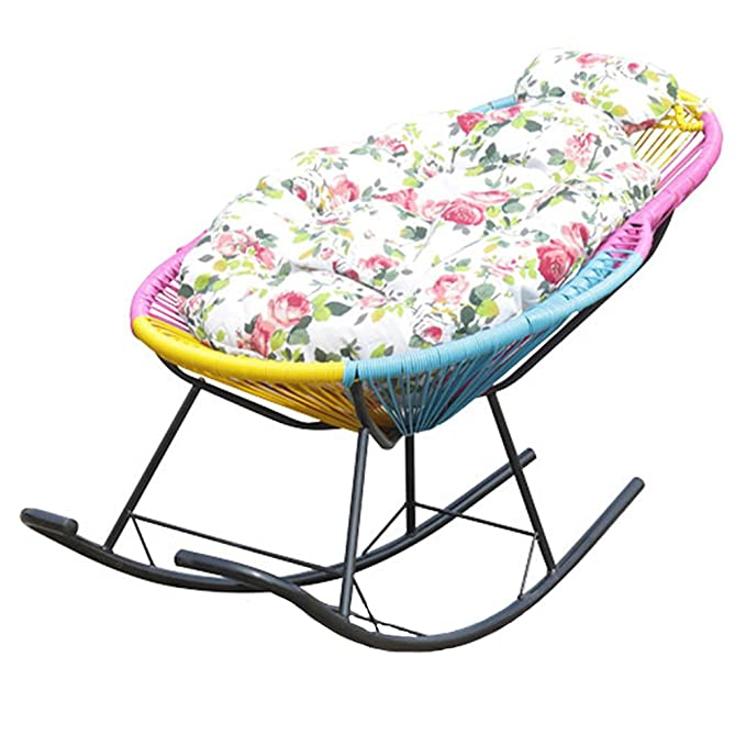 Amazon.com: ZXQZ Silla de mecedora para adulto, silla de ...
