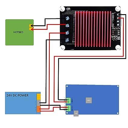 Amazon Com Utl 3d Printer Parts Heating Controller Mks Mosfet For