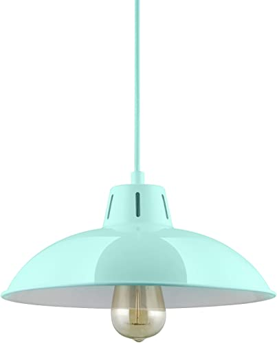 Sunlite CF PD V M Mint Vega Residential Ceiling Pendant Light Fixtures with Medium E26 Base