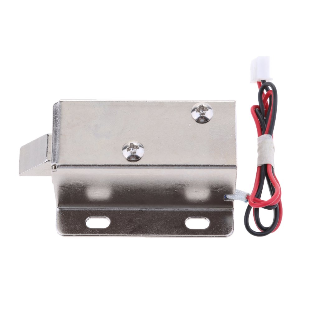 MagiDeal 24V 0.8A Mini Electric Magnetic Electromagnetic Lock Door Access Entry Locker Replacement