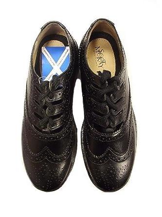 ... Shoes - B07C958S6H  brand new 789fc07375 Ex Scot McKay Boys Leather  Scottish Ghillie Kilt Brogues Size 35 (2.5 ... 7e8c42816498