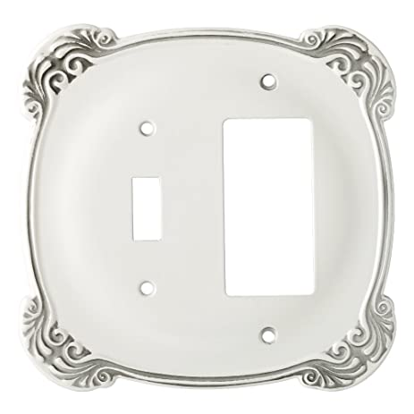 Franklin Brass 144388 Arboresque Single Toggle Switch/Decorator Wall Plate  / Switch Plate / Cover