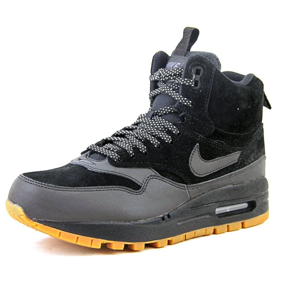Women's SneakerBoot Nike Air Max 1 Mid Waterproof shoe in Black 685267 003