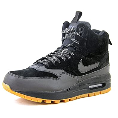 size 40 f6e65 5f8a4 NIKE Air Max 1 Mid Sneakerboot Women US 5.5 Black Sneakers