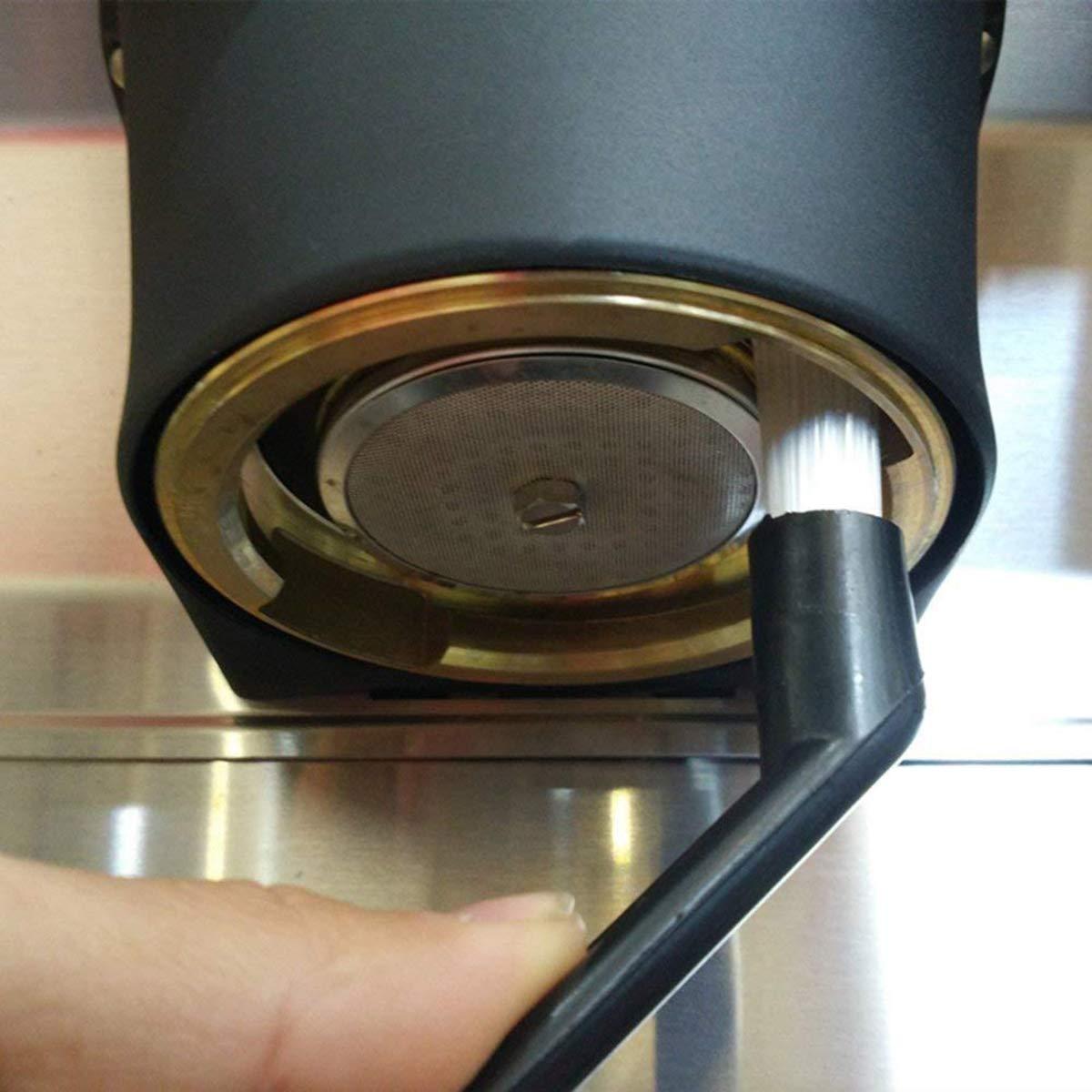 Binchil Caffe Brush Cleaner Macchina Nylon Caffe Espresso Gruppo Machine Head per Pulizia in 2 Pezzi