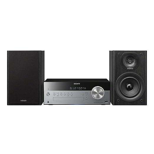 58 opinioni per Sony CMT-SBT100Sistema Hi-Fi, Potenza 50W, Lettore CD, Radio FM/AM, Bluetooth,