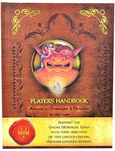 D&D 1st Edition Players Handbook Reprint by Wizards of the Coast