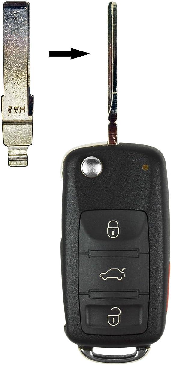 Flip Key Replacement Blade for Volkswagen 2015-2018
