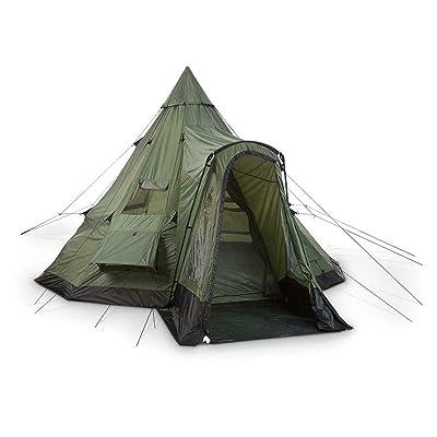 RT Weatherproof Teepe Outdoor Hunting Deluxe Tent: Garden & Outdoor