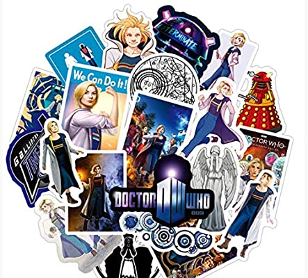 YUNDD Doctor Who Stickers Sets Anime Sticker Lot para Laptop ...